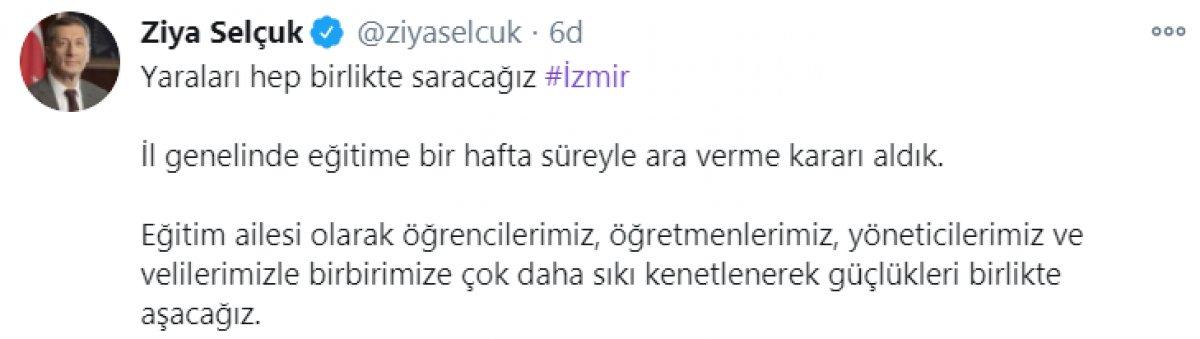 İzmir de eğitime bir hafta ara verildi #1