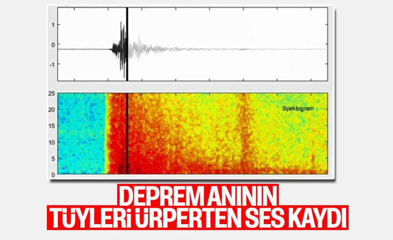 İzmir depreminin tüyleri ürperten ses kaydı