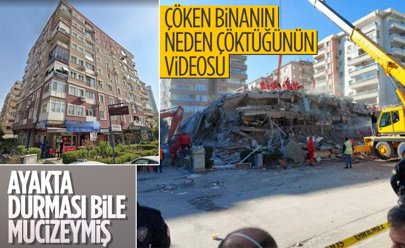 İzmir depreminde yıkılan binada kullanan malzemeler kalitesiz çıktı