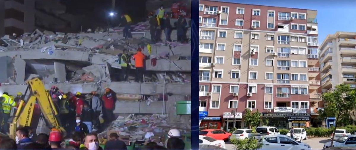 İzmir deki depremde enkaz altında kalan Buse kurtarıldı #1