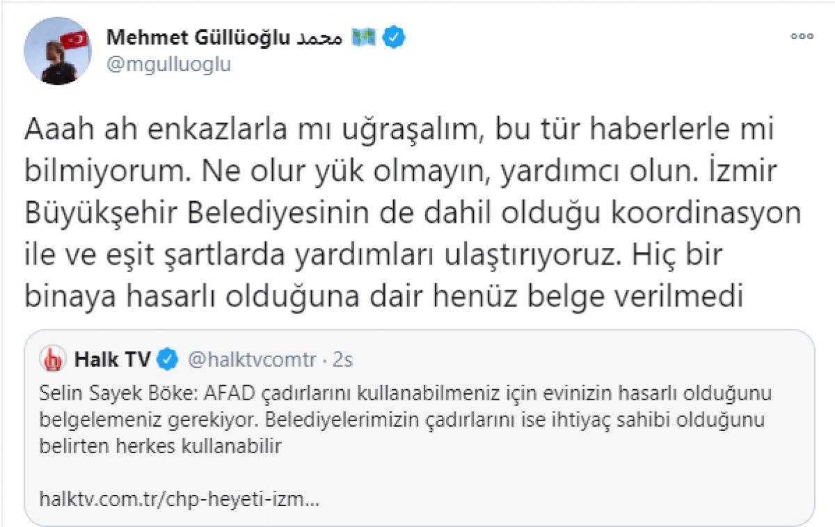 CHP li Böke nin AFAD çadırlarıyla ilgili iddiasına İçişleri ve AFAD dan cevap  #2