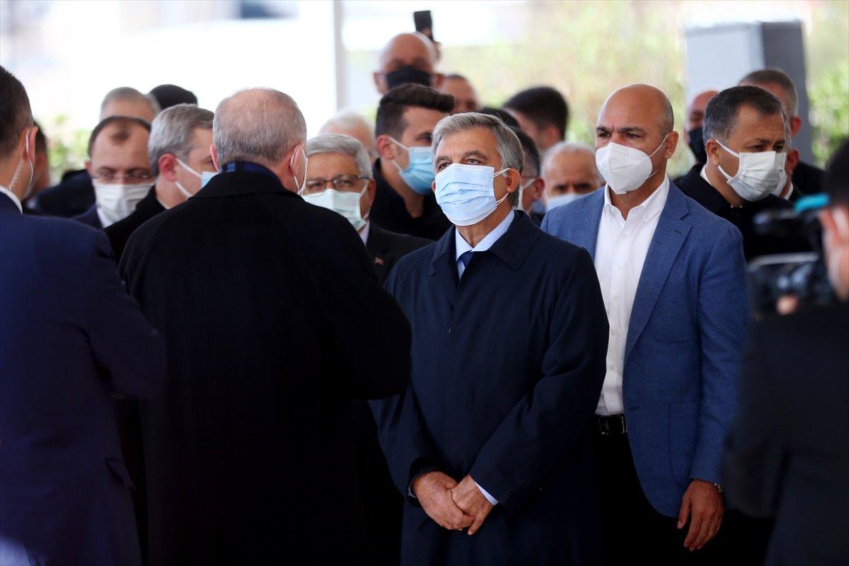Cumhurbaşkanı Erdoğan, Mesut Yılmaz ın cenaze törenine katıldı #1