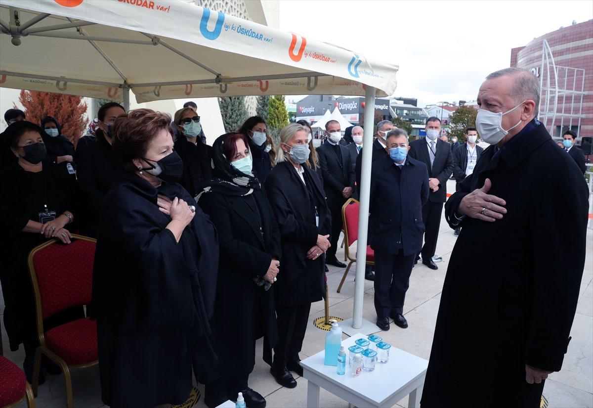 Cumhurbaşkanı Erdoğan, Mesut Yılmaz ın cenaze törenine katıldı #3