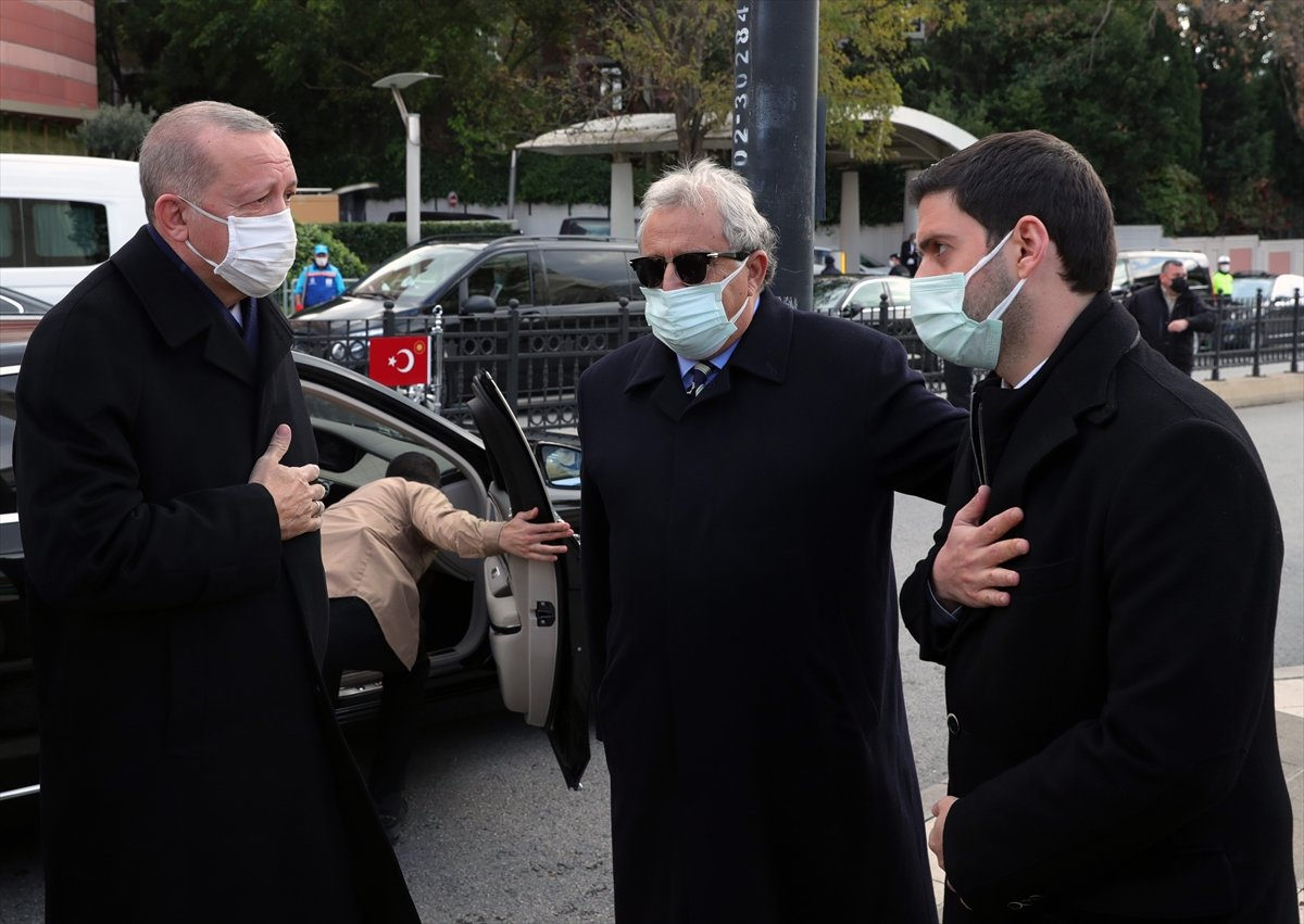 Cumhurbaşkanı Erdoğan, Mesut Yılmaz ın cenaze törenine katıldı #2