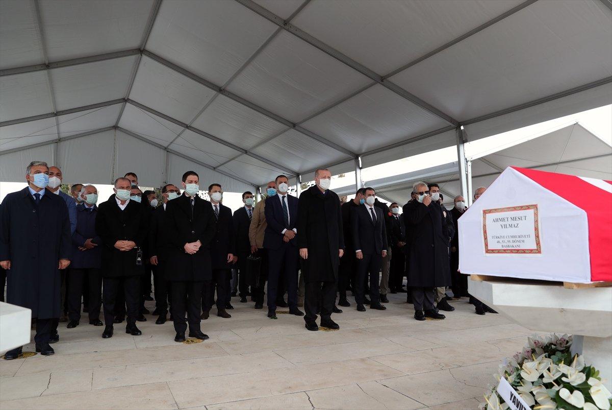 Cumhurbaşkanı Erdoğan, Mesut Yılmaz ın cenaze törenine katıldı #4