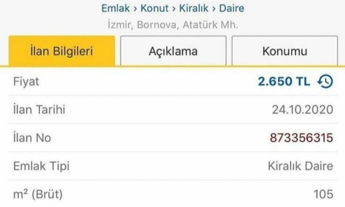 Deprem sonrası İzmir de ev kiraları arttı #1