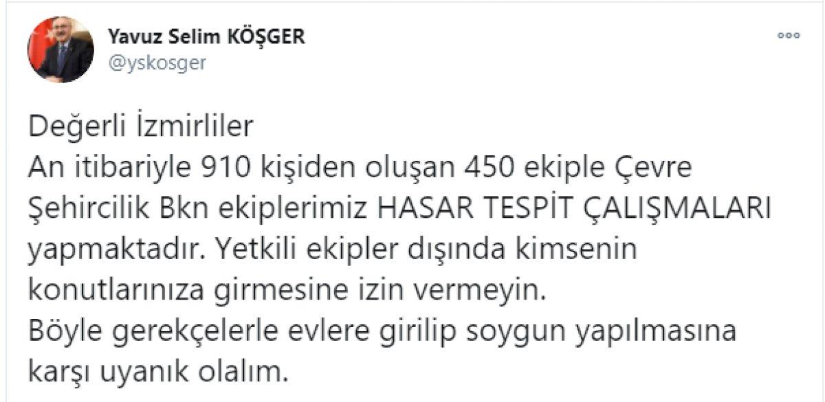 İzmir Valisi nden hırsızlıklara karşı soygun uyarısı  #1