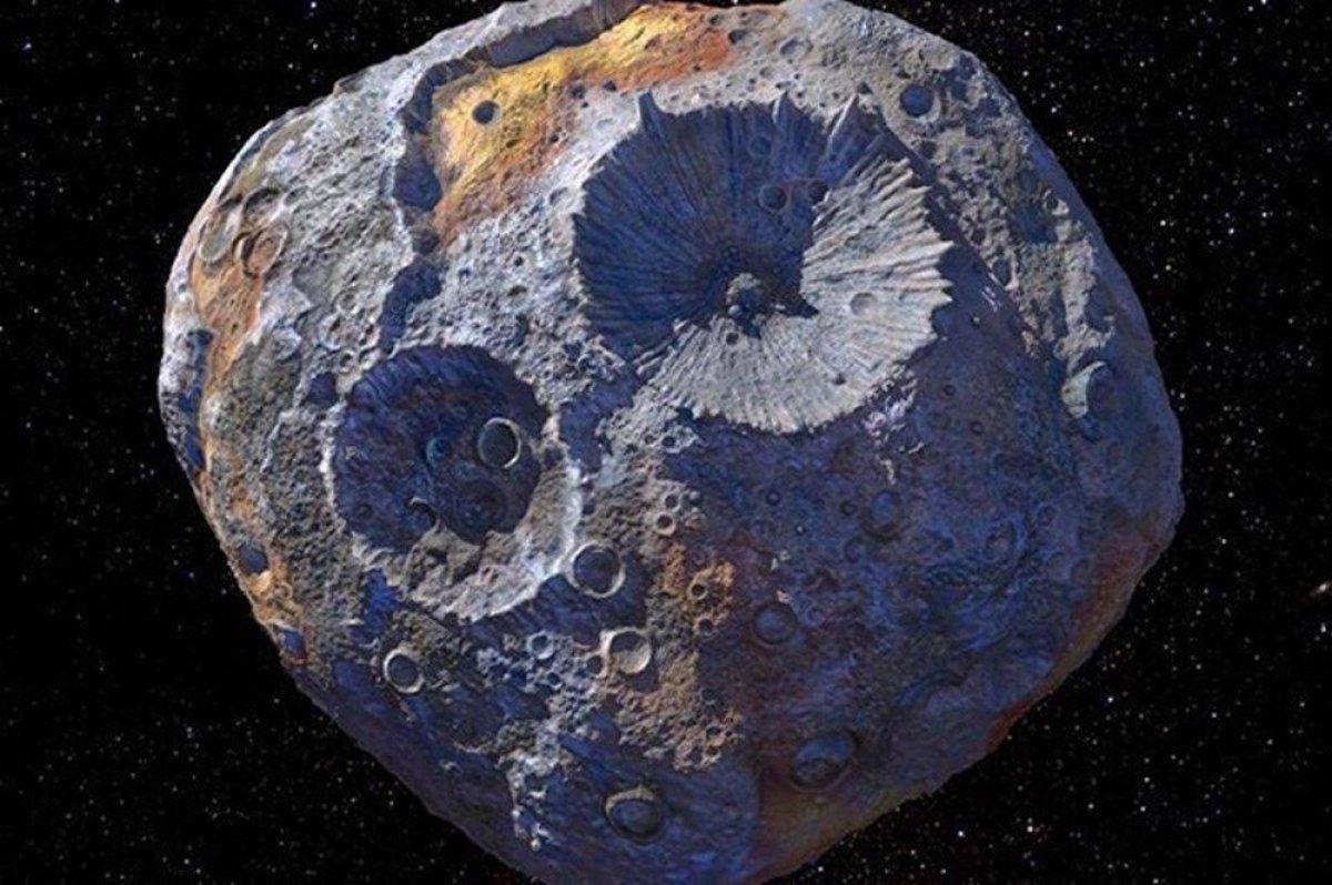 NASA, 10 bin katrilyon dolarlık göktaşında ilk çalışmasını yaptı #1