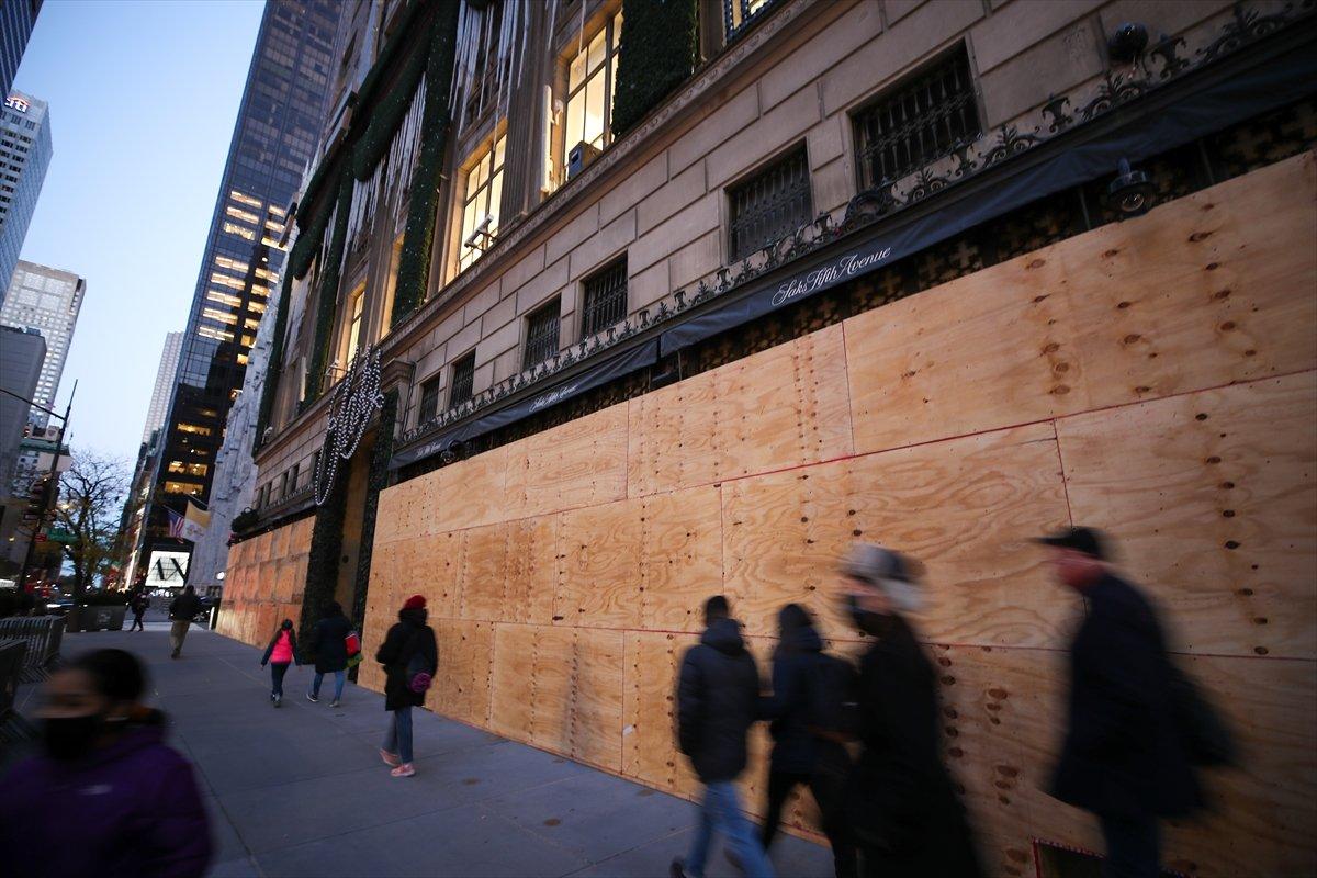 ABD de mağazaların seçim önlemi #2