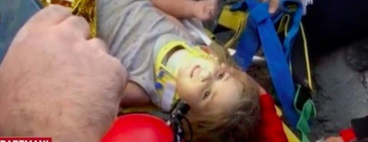 Tunç Soyer: Rıza Bey Apartmanı ndan bir bebeğe canlı ulaşıldı #5