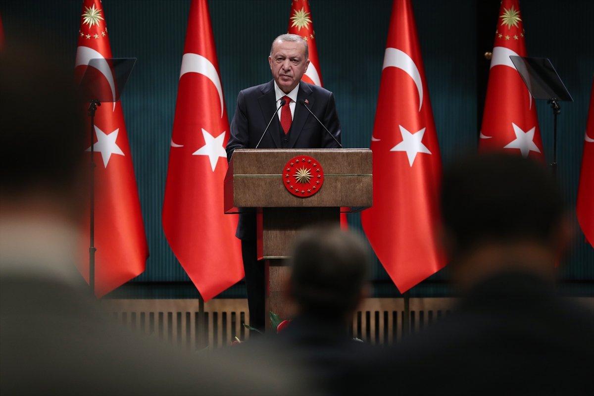 Erdoğan: Tüm iş yerleri 22.00 de kapanacak #1
