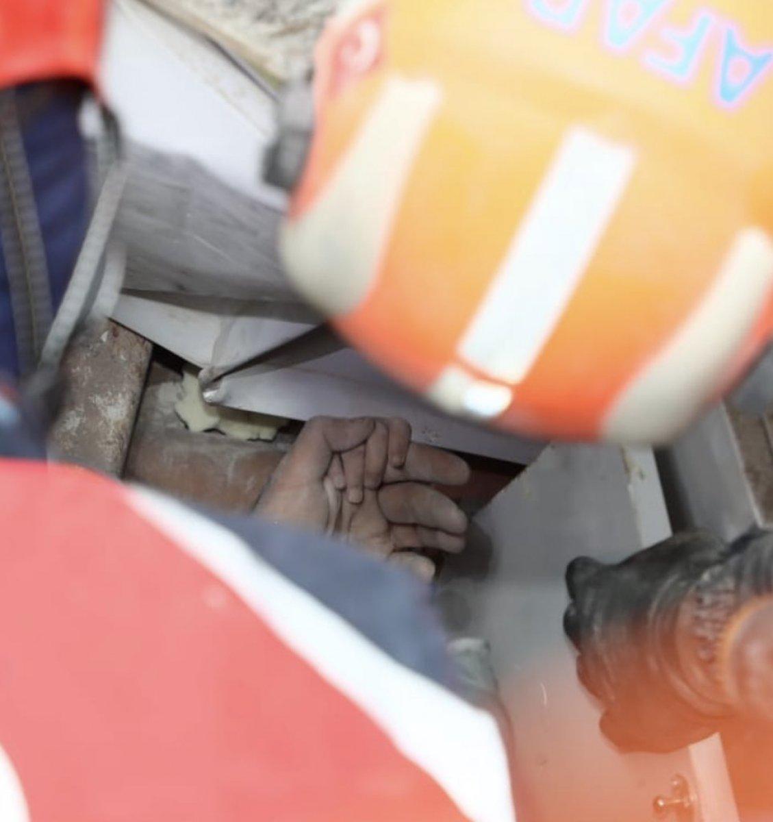 Tunç Soyer: Rıza Bey Apartmanı ndan bir bebeğe canlı ulaşıldı #2