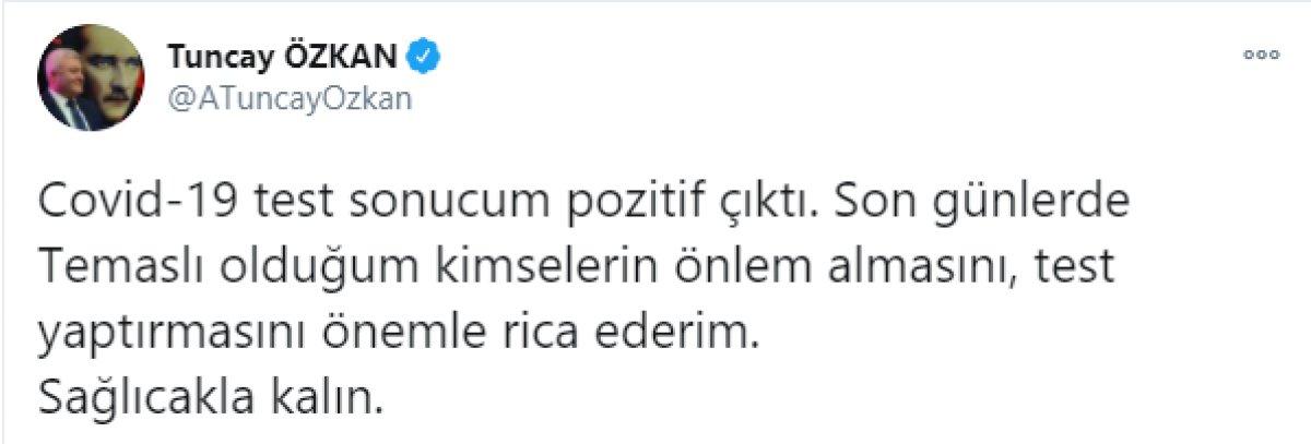 CHP li Tuncay Özkan ın, koronavirüs testi pozitif çıktı  #2