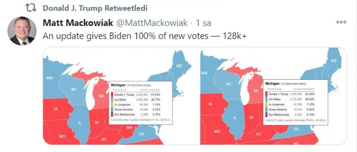 Trump cephesinden, posta oylara tepki #1