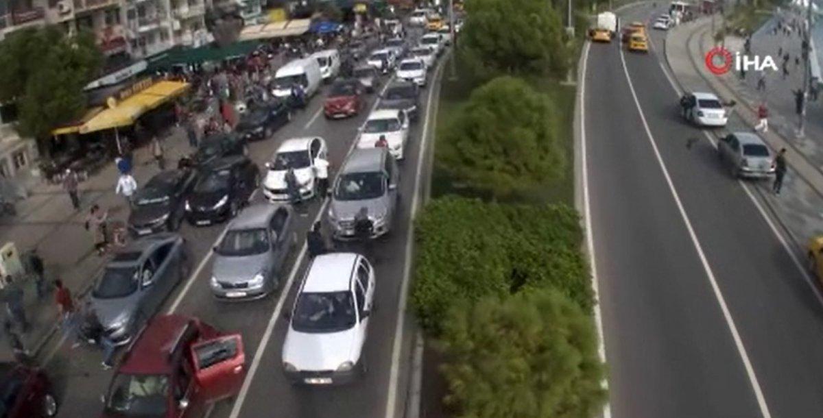 İzmir de deprem anında yaşananlar kamerada #2