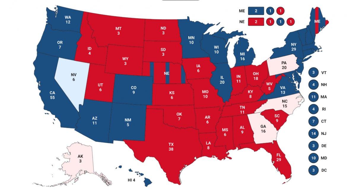 ABD başkanlık seçimlerinde gözler Nevada da #1