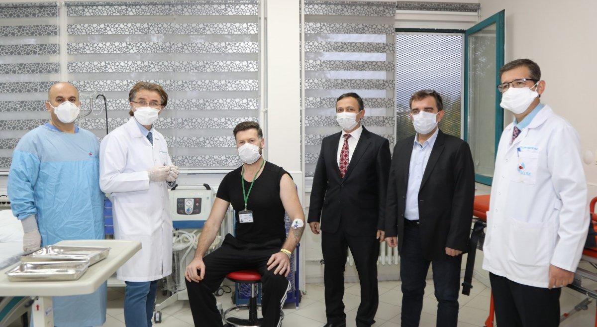 Erciyes Üniversitesi nde geliştirilen korona aşısının insan denemeleri başladı #2