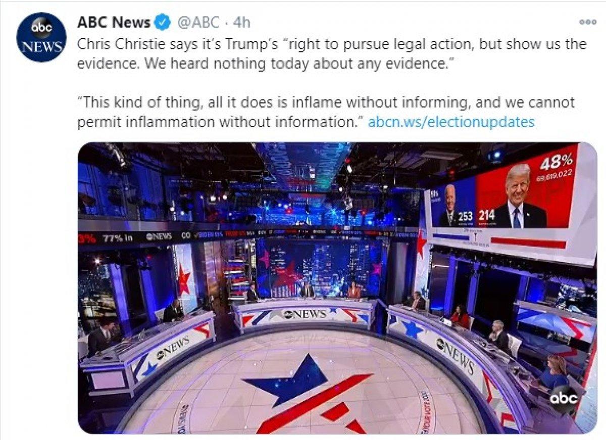 ABD kanalları Trump'ın canlı yayın konuşmasını kesti #3