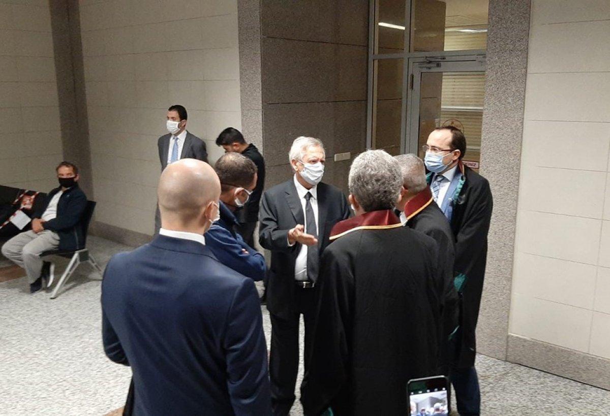 Aziz Yıldırım ile Ali Koç  Şike Davası  için adliyede #2
