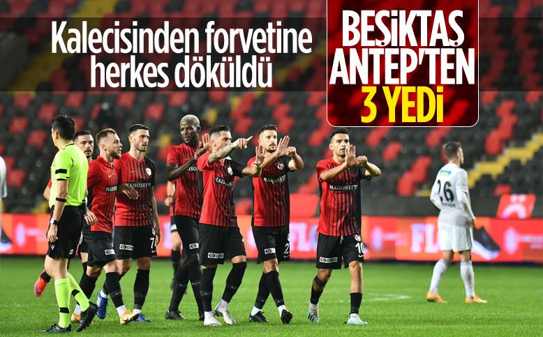 Beşiktaş, Gaziantep FK deplasmanından puansız döndü