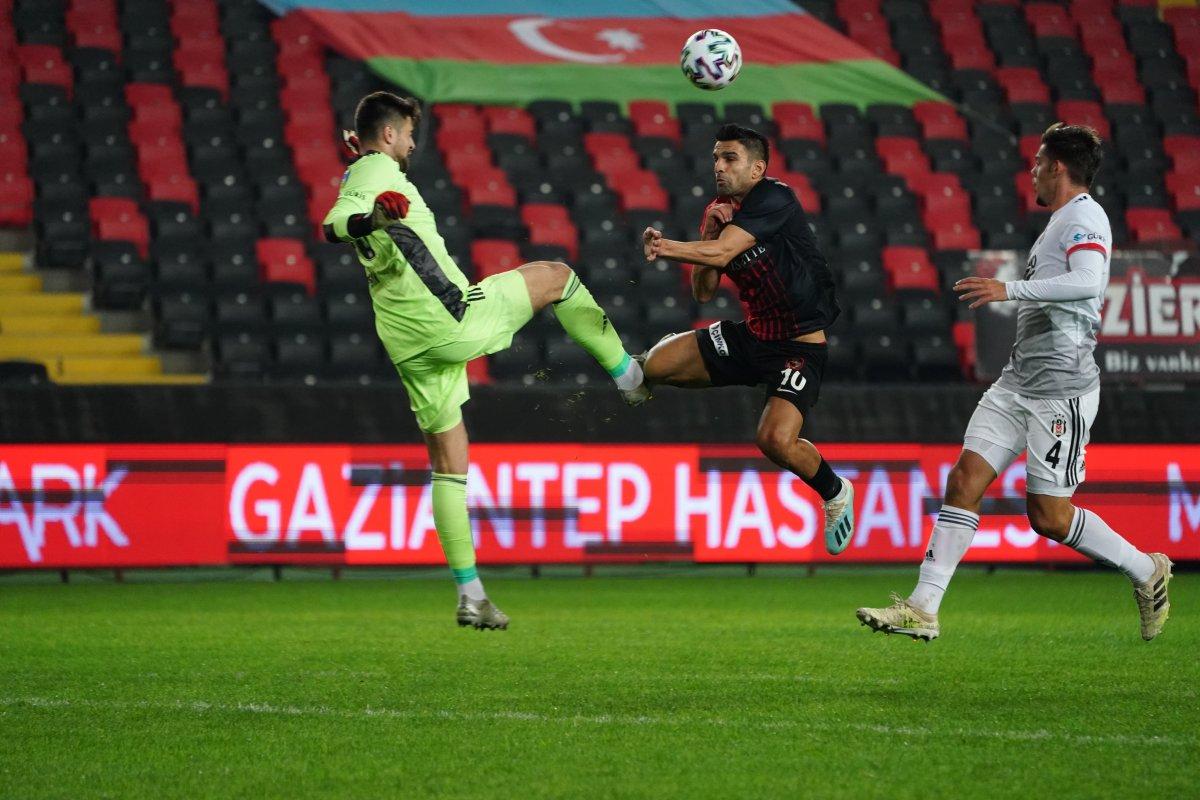 Beşiktaş Gaziantep maçı sona erdi