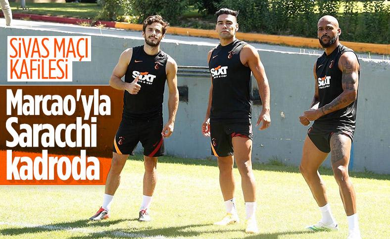 Sivasspor maçı kadrosunda Marcao ve Saracchi yer aldı