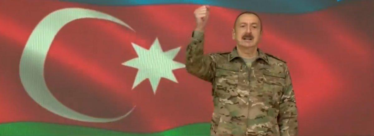 Aliyev: Topraklarımızı kurtarmaya devam edeceğiz #1