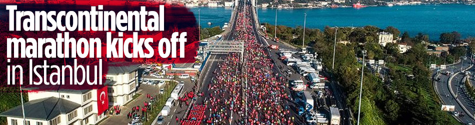 Transcontinental Istanbul Marathon kicks off with measures