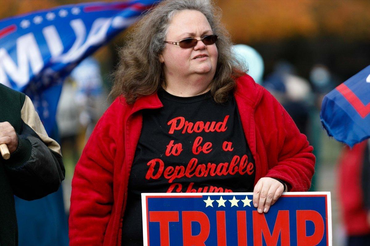 ABD de Trump taraftarı gruplar seçim sonuçlarını protesto etti #3