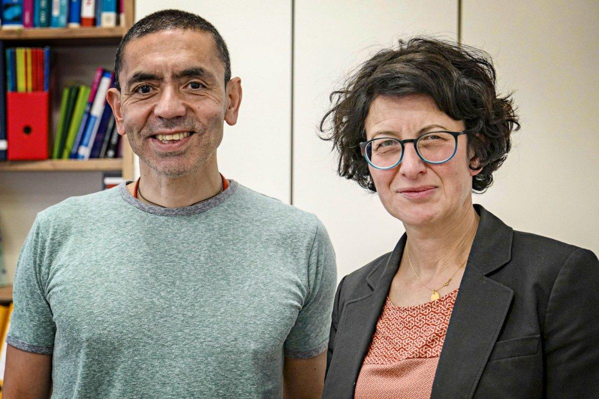 Koronavirüs aşısını bulan şirketin kurucusu olan iki Türk: Uğur Şahin ve Özlem Türeci #1