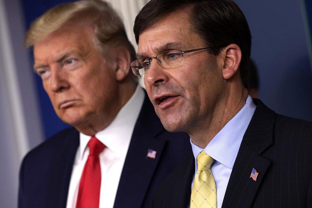 Trump, Savunma Bakanı Mark Esper i görevden aldı #1