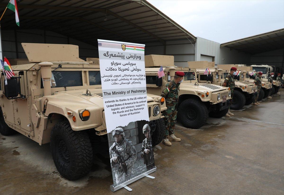 ABD den Peşmerge ye askeri yardım #6