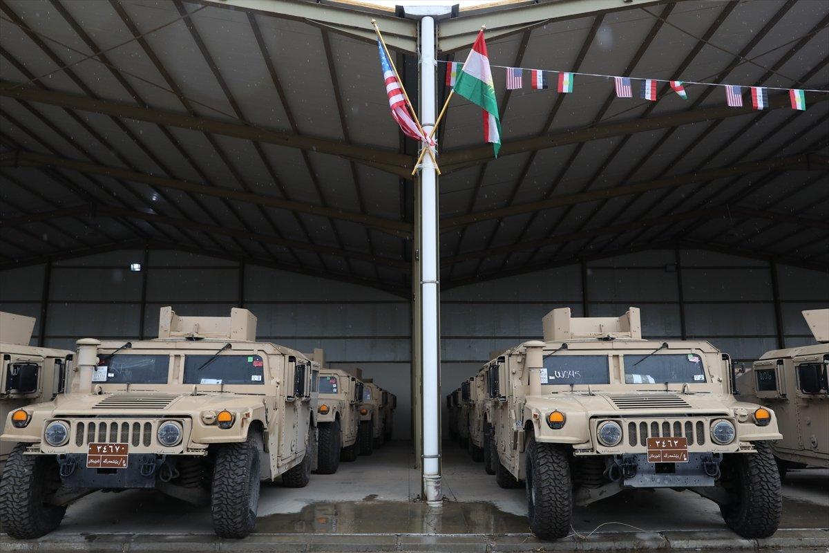 ABD den Peşmerge ye askeri yardım #3
