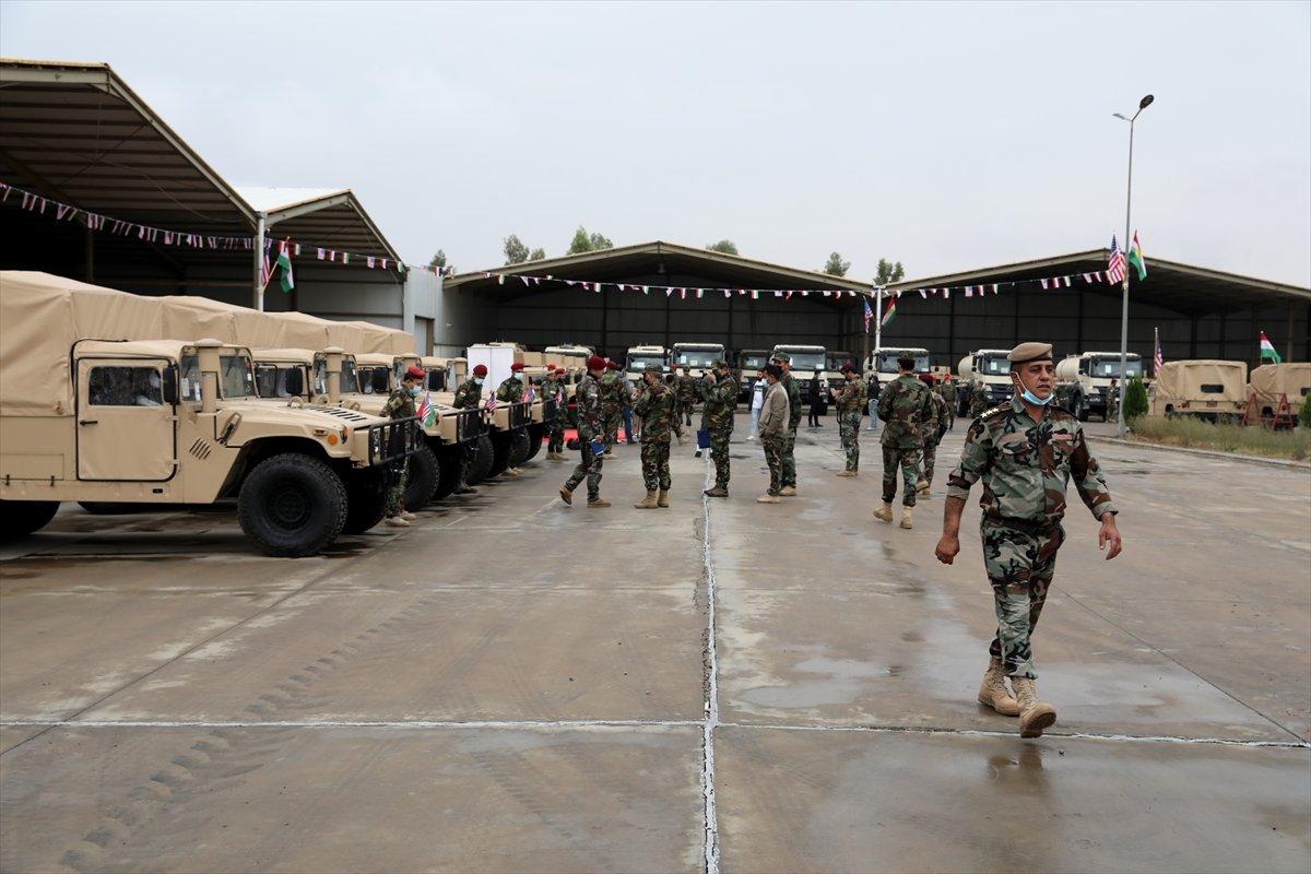 ABD den Peşmerge ye askeri yardım #1