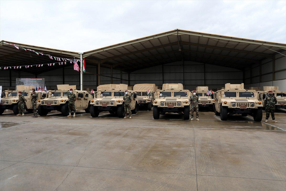 ABD den Peşmerge ye askeri yardım #2