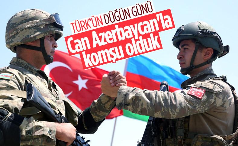 Nahçıvan koridoru ile Türkiye ile Azerbaycan birleşiyor