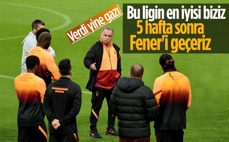 Fatih Terim: Ligin en iyi takımı biziz