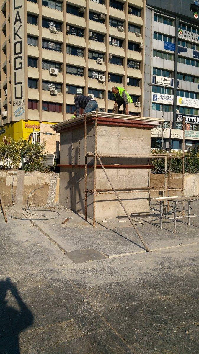 Bornova Belediyesi Atatürk heykelini 10 Kasım a yetiştirdi #4