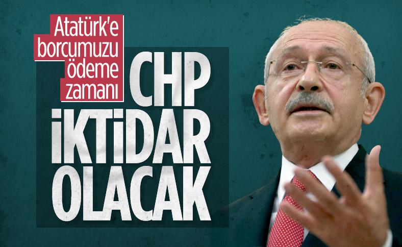 Kılıçdaroğlu: Cumhuriyeti, ikinci yüzyılında demokrasi ile taçlandırmalıyız