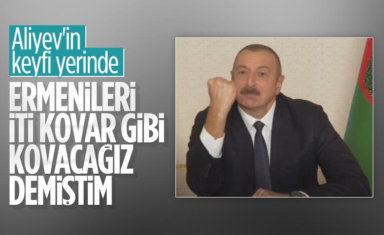 Aliyev: Paşinyan anlaşmayı sıçan gibi imzalayacak