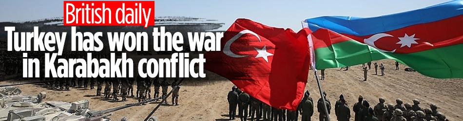 British daily: Turkey has won the war