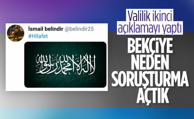 Bursa'da bekçiye paylaşımı nedeniyle soruşturma