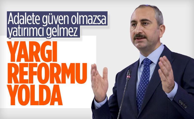 Abdulhamit Gül: Bırakın adalet yerini bulsun