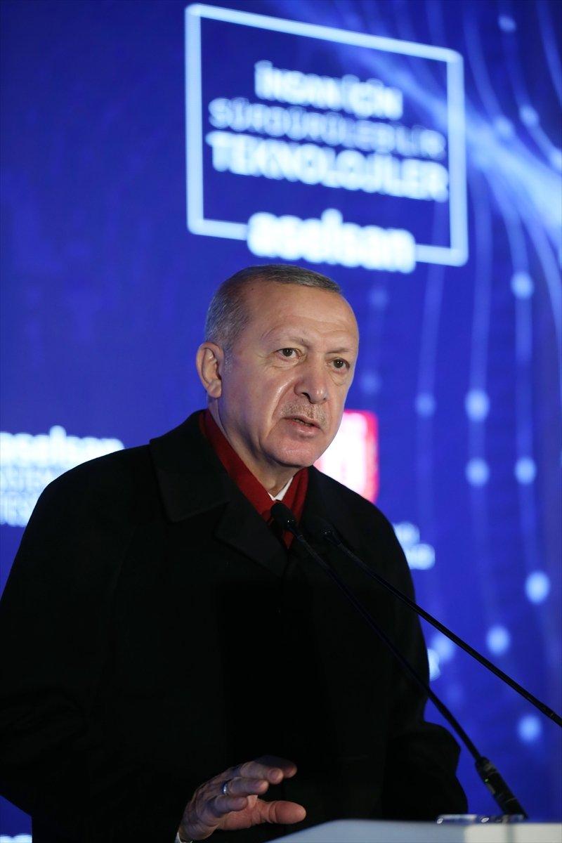 Cumhurbaşkanı Erdoğan: Kanada ambargo uyguladı, ASELSAN da yerlisini ürettik  #3