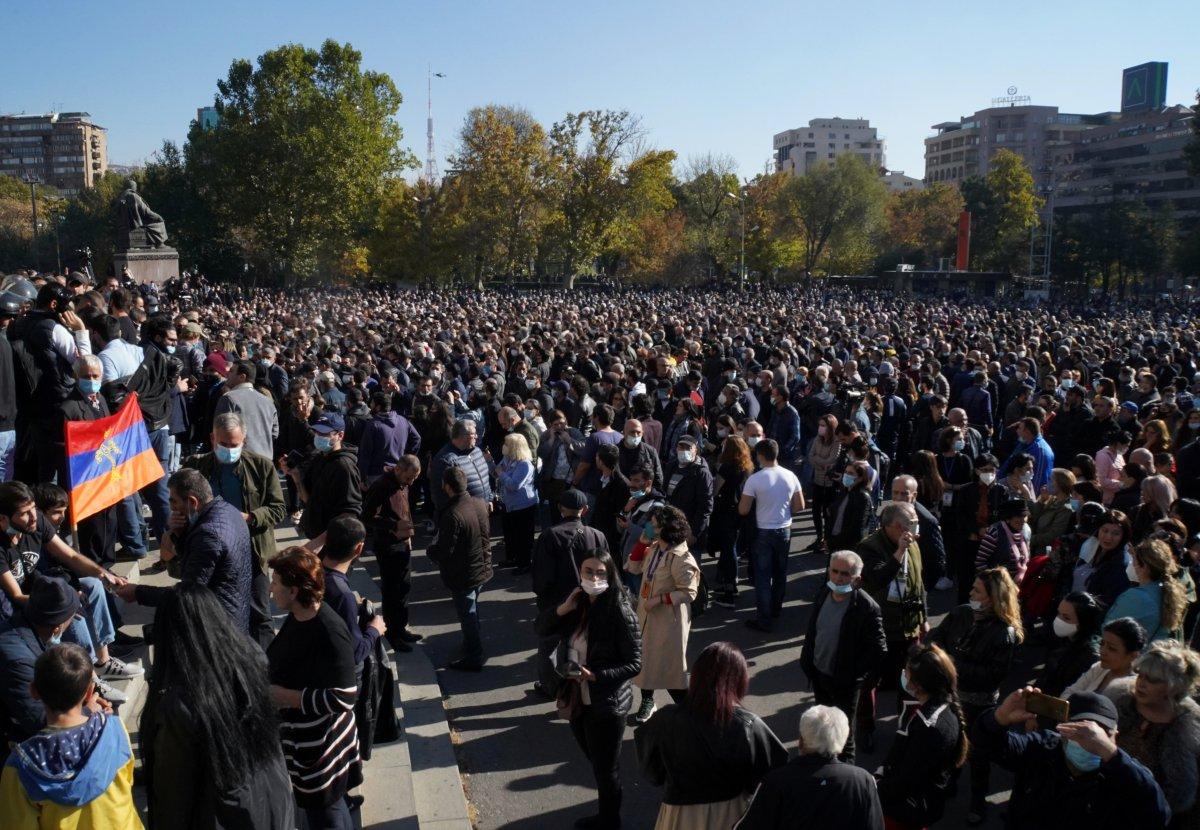 Ermenistan, Paşinyan ı arıyor #2