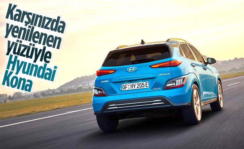 Elektrikli Hyundai Kona yenilendi
