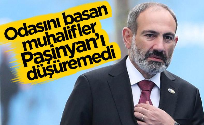 Ermenistan'da muhalefet, Paşinyan'ı düşüremedi
