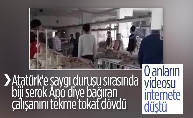 10 Kasım anmasında PKK'ya yönelik sloganı attı, anında cevap geldi