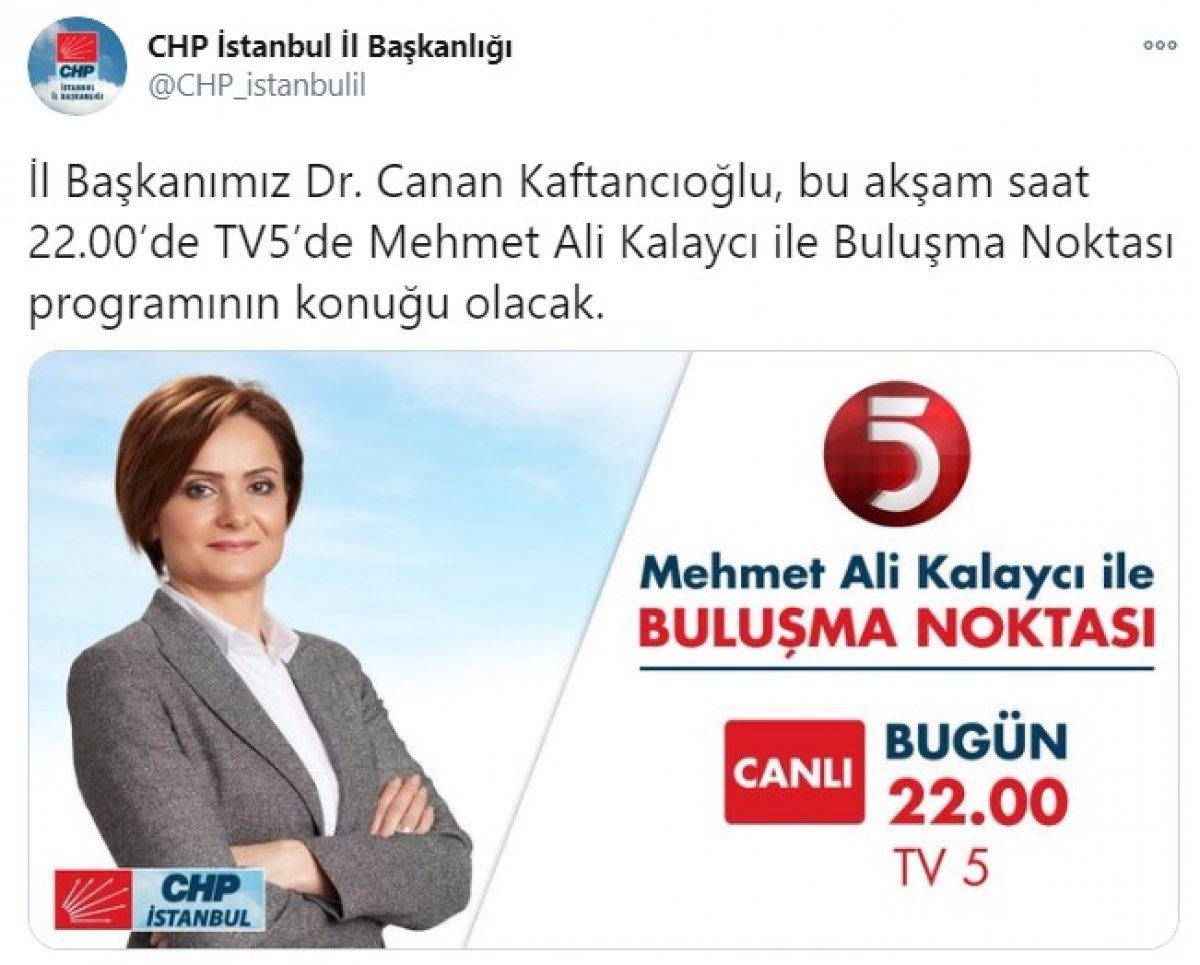 Saadet Partisi nin kanalını TV5 in konuğu: Canan Kaftancıoğlu #1