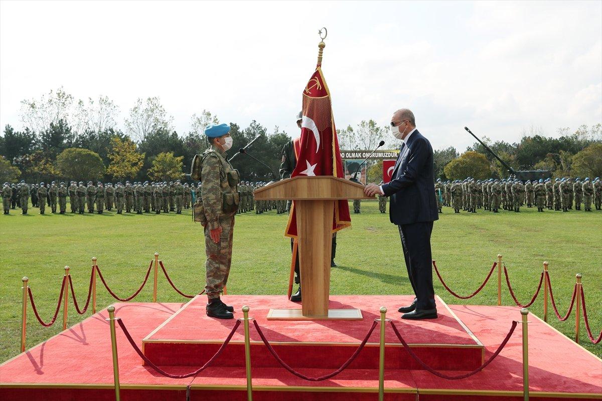 Cumhurbaşkanı Erdoğan sancak töreninde #2
